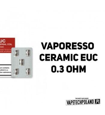 Grzałka - Vaporesso Ceramic EUC - 0.3ohm Grzałka - Vaporesso Ceramic EUC - 0.3ohm Grzałka pasuję do następujących sprzętów: - V