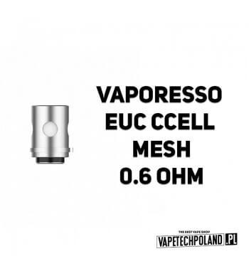 Grzałka - Vaporesso EUC CCELL Mesh - 0.6ohm Grzałka - Vaporesso EUC CCELL Mesh - 0.6ohm Grzałka pasuję do następujących sprzętó