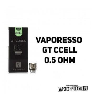 Grzałka - Vaporesso GT CCELL - 0.5ohm Grzałka - Vaporesso GT CCELL - 0.5ohm Grzałka pasuję do następujących sprzętów: - Vapores