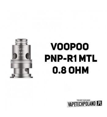Grzałka - VooPoo PNP-R1 MTL - 0.8ohm Grzałka - VooPoo PNP-R1 MTL - 0.8ohm Grzałka pasuję do następujących sprzętów: - PNP POD -