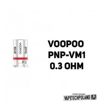 Grzałka - VooPoo PNP-VM1 - 0.3ohm Grzałka - VooPoo PNP-VM1 - 0.3ohm Grzałka pasuję do następujących sprzętów: - Vinci, - Drag