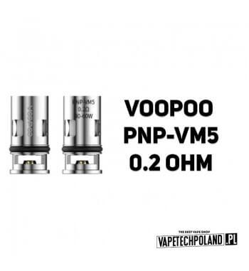 Grzałka - VooPoo PNP-VM5 - 0.2ohm Grzałka - VooPoo PNP-VM5 - 0.2ohm Grzałka pasuję do następujących sprzętów: - Vinci - Drag S