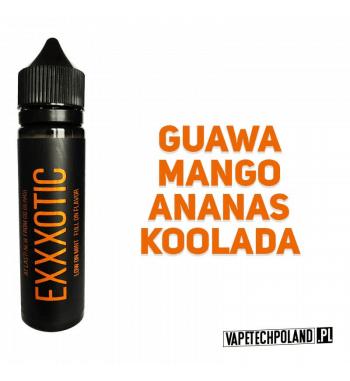Premix XXX Series by Go Bears - EXXXOTIC 50ML Egzotyczna mieszanka owocu guawy, z dodatkiem mango, ananasa i kolady. 50ml płynu