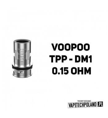 Grzałka - VooPoo TPP - DM1- 0.15ohm Grzałka - VooPoo TPP - DM1- 0.15ohm Grzałka pasuję do następujących sprzętów: - Drag 3 - Dr