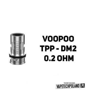 Grzałka - VooPoo TPP - DM2 - 0.2ohm Grzałka - VooPoo TPP - DM2 - 0.2ohm Grzałka pasuję do następujących sprzętów: - Voopoo Vinc