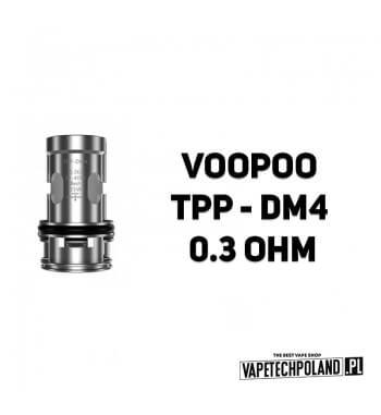Grzałka - VooPoo TPP - DM4 - 0.3ohm Grzałka - VooPoo TPP - DM4 - 0.3ohm Grzałka pasuję do następujących sprzętów: -parowniki TP