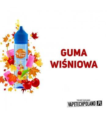Longfill VAPY AUTUMN TIME - Cherry Gum 10ml Aromaty:Guma wiśniowa.Longfill jest to nowy produkt na rynku EIN. Charakteryzuje