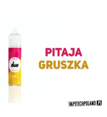 Duo Premix - Pitaja & Gruszka 40ML Prosty i pyszny premix o smaku pitaja z gruszką. 40ml płynu w butelce o pojemności 60mlPro