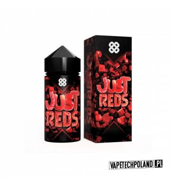 Premix ALT ZERO - Just Reds 100ML JustReds - Cukierki o smaku truskawki,arbuza i czereśni...PYCHA! 100ml płynu w butelce.Pro