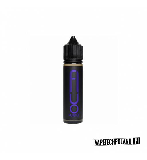 Premix FLUO - Purple 50ML Granat,jeżyna,pomarańcza i koolada!Produkt Shake and Vape przeznaczony do wcześniejszego rozcieńcze