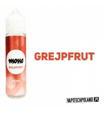 Mono Premix - Grejpfrut 40ML Premix o smaku owocu grejpfruta. 40ml płynu w butelce o pojemności 60ml. Produkt Shake and Vape pr