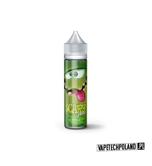 Premix Scary Juice- Pitch 50ML Premix Scary Juice o smaku brzoskiwini,acai i szampana. 50ml płynu w butelce o pojemności 60ml