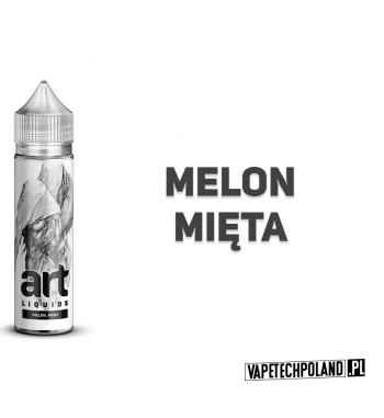 Premix ART LIQUIDS - Melon/Mięta 50ML Premix o smaku melona i mięty. 50ml płynu w butelce o pojemności 60ml.Produkt Shake and