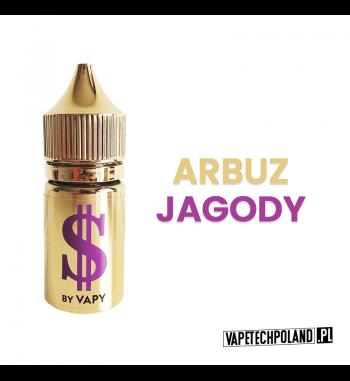 Premix Dollar By VAPY - Purple 20ML Premix o smaku arbuza i jagody. 50ml płynu w butelce o pojemności 60mlProdukt Shake and V