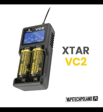 Ładowarka dwukanałowa XTAR VC2 wyświetlacz VC2jest dwukanałową ładowarką do ogniw litowo-jonowych (Li-ion) z wejściem ładowani